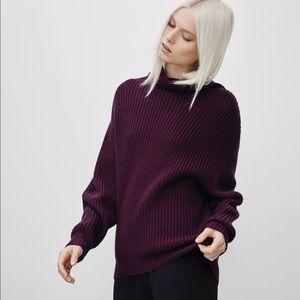 NWOT Aritzia Wilfred 💯% Wool Montpellier Sweater